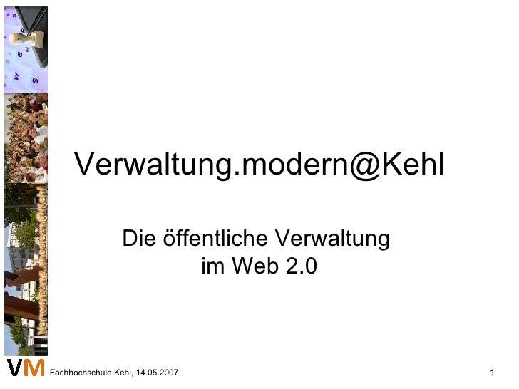 [email_address] Die öffentliche Verwaltung  im Web 2.0