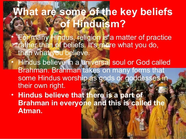 Very basic introduction to hinduism!