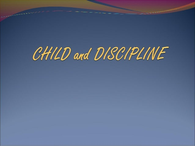 When do parents need to start to discipline their child? During the toddler and preschool years, children experience a rap...