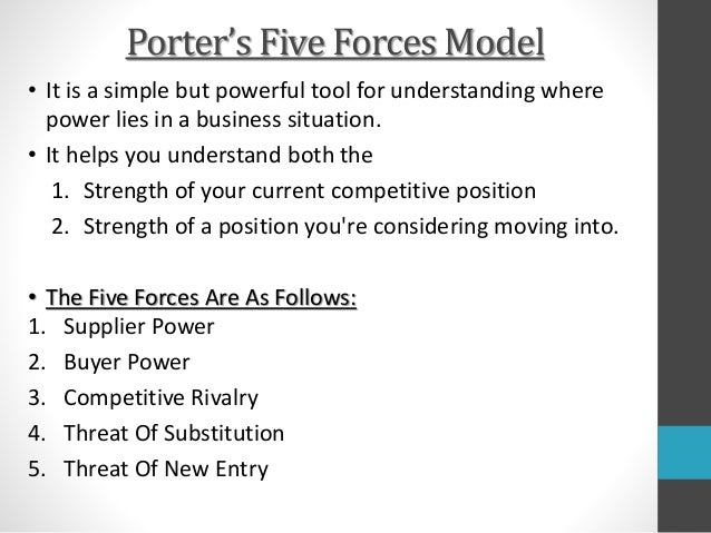 porter five forces wind turbine industry Porter's five forces model • it is a simple but powerful tool for understanding   threat of entry: • barriers in the wind turbine industry are highly.