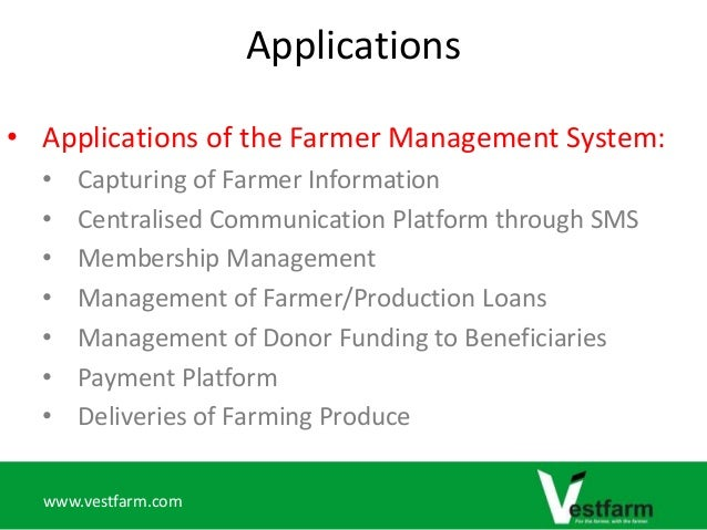 Farmer Management System