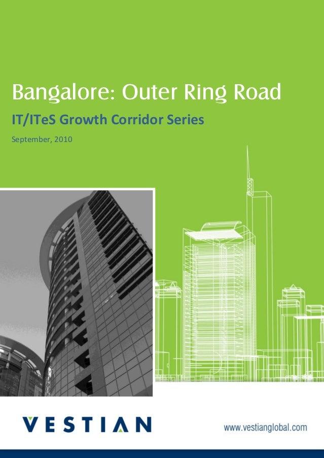 LOREM IPSUM DOLOR SITAMET    Lorem IpsumBangalore: Outer Ring RoadIT/ITeS Growth Corridor SeriesSeptember, 2010           ...