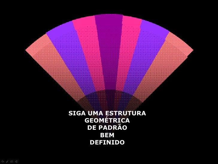 ESTRUTURA<br />GEOMÉTRICA<br />DE PADRÃO<br />DEFINIDO<br />
