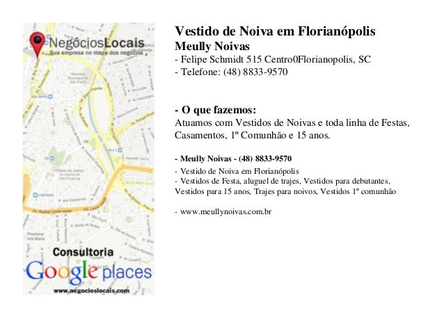 Vestido de Noiva em FlorianópolisMeully Noivas- Felipe Schmidt 515 Centro0Florianopolis, SC- Telefone: (48) 8833-9570- O q...