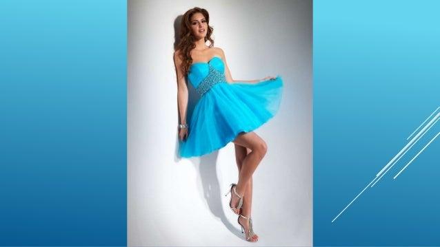 Imagenes de vestidos de graduacion color azul turquesa