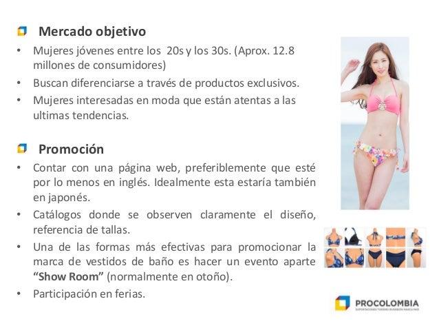 c29a2623047d Seminario Web Oportunidades para los Vestidos de baño colombianos en …