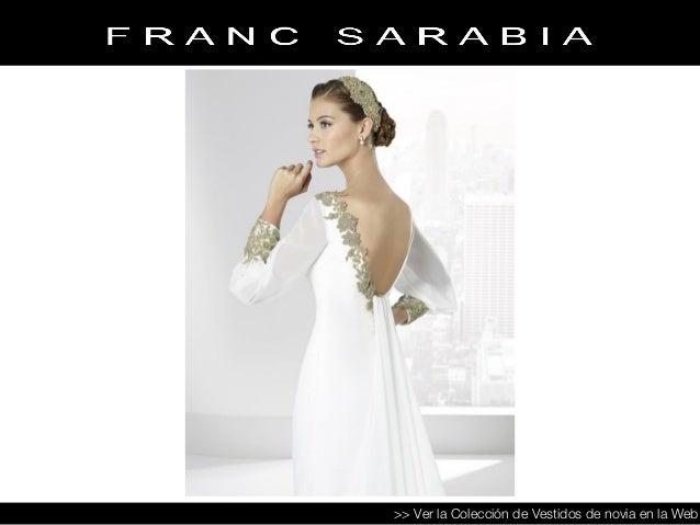 vestidos de novia franc sarabia- colección 2016