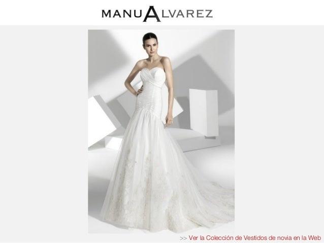 Vestidos novia manu alvarez precios