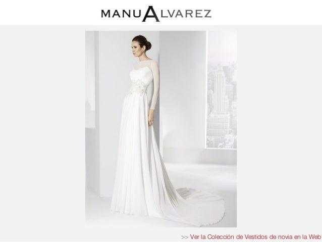 843e21142 Vestidos novia manu alvarez 2016 – Vestidos madrina