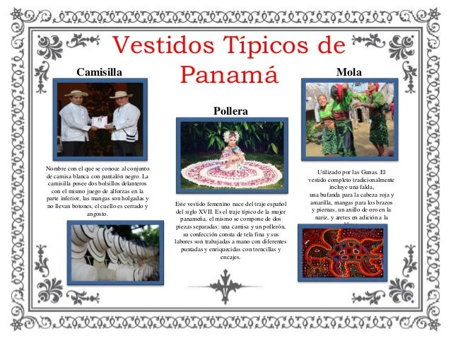 403247c524 Vestidos Típicos de Panamá Este vestido femenino nace del traje español del  siglo XVII. Es