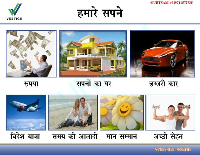 Vestige Marketing Success Business Plan in Hindi    Free