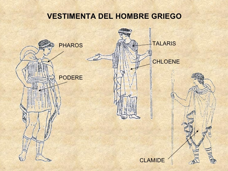4bc7f5b93 Vestimenta romana griega