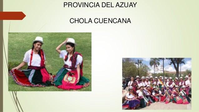 Chola cuencana vestimenta