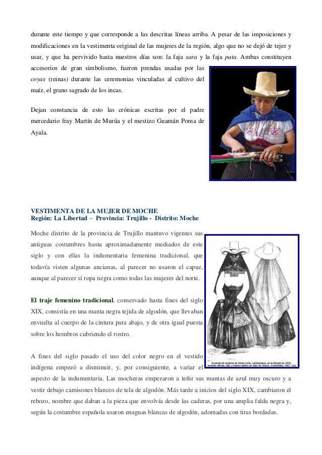 Vestuario Tradicional Del Peru