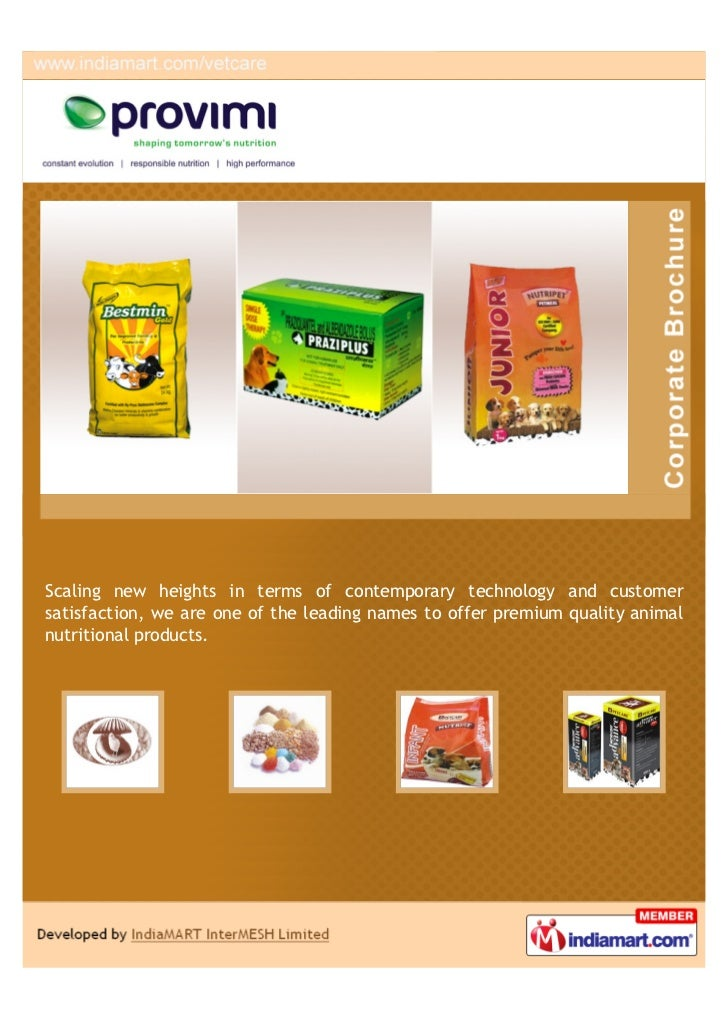 Provimi Animal Nutrition India Private Limited Bengaluru Praziplus
