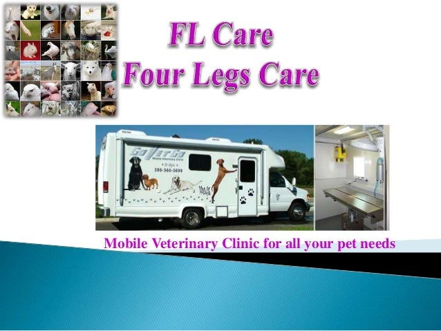 Mobile Veterinary Clinic for all your pet needs