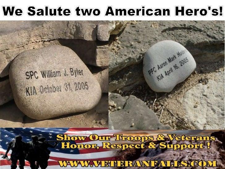 We Salute two American Hero's!<br />