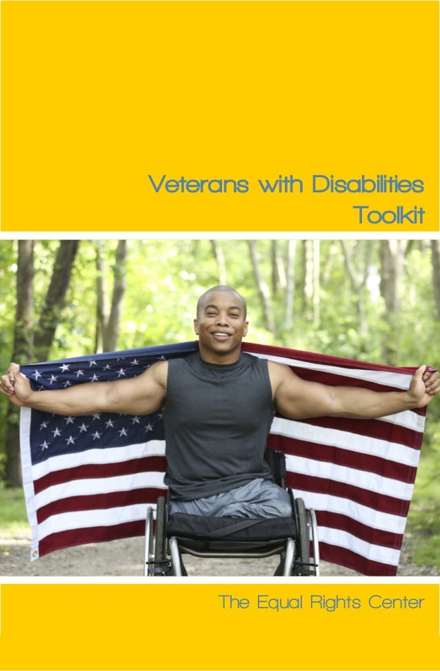 i  Veterans with Disabilities  Toolkit  The Equal Rights Center