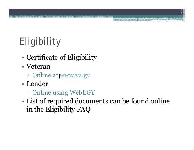 Ma Ceu Veterans Administration Va Loans Re73r11