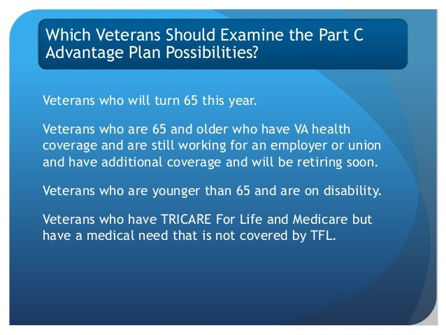 Medicare Part D >> Veterans and Medicare Overview