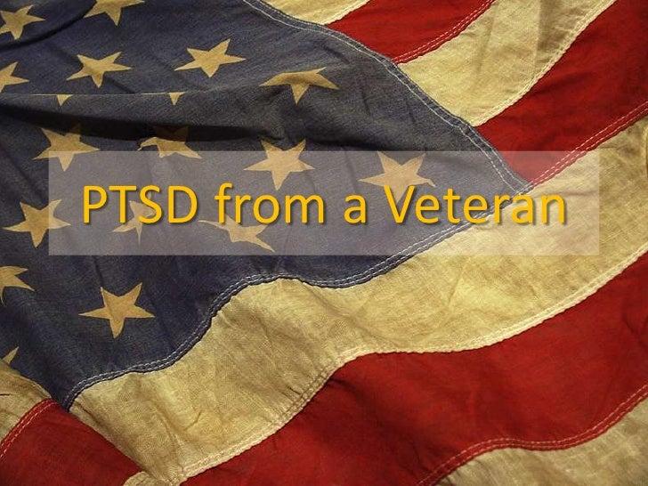 PTSD from a Veteran