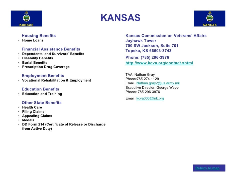 Veterans benefits by state for Kansas lifetime fishing license