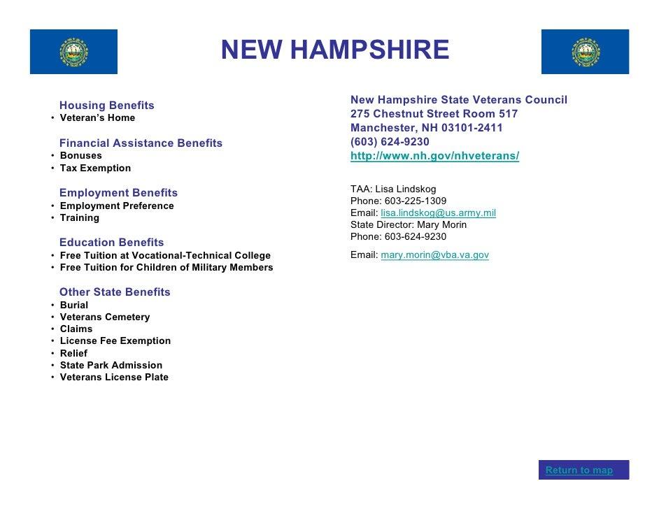 30 NEW HAMPSHIRE Housing Benefits