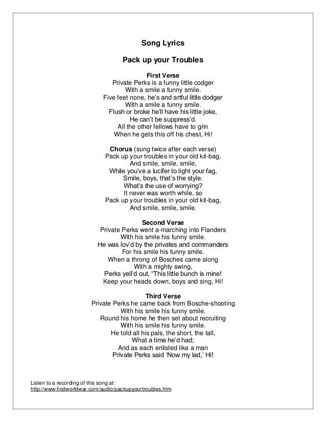 Service Songs and Hymns | Military Salute Project