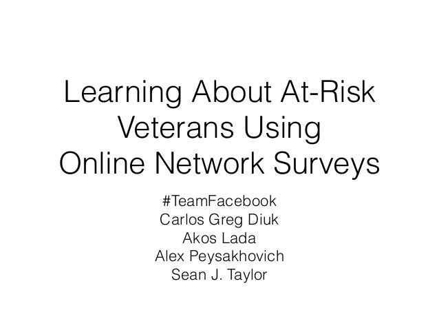 Learning About At-Risk Veterans Using 