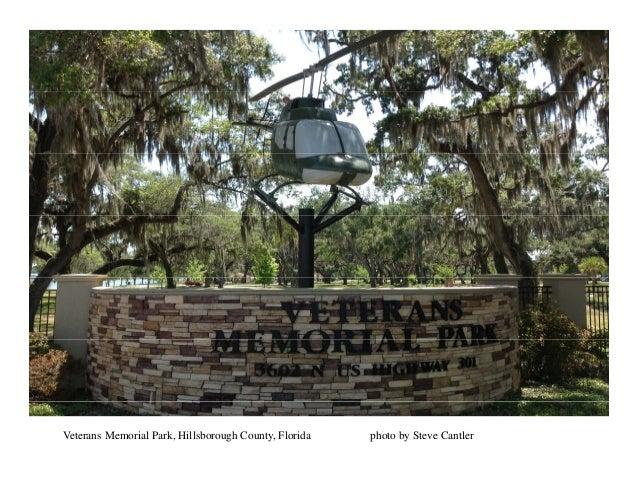 Veterans Memorial Park, Hillsborough County, Florida photo by Steve Cantler