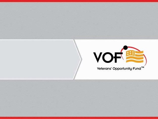Veterans' Opportunity Fund 1
