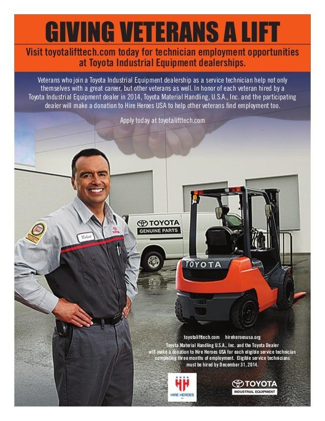 Toyota industrial equipment careers