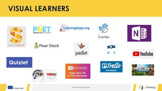 www.etwinning.net VISUAL LEARNERS