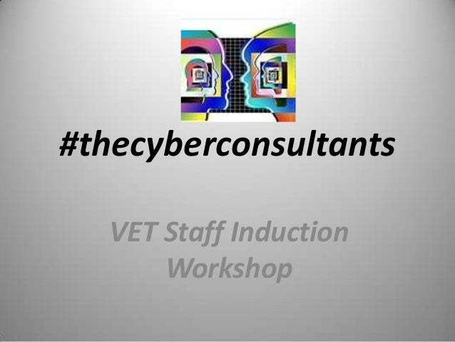 #thecyberconsultants VET Staff Induction Workshop