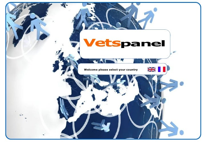 Welcome please select your country  Vets panel