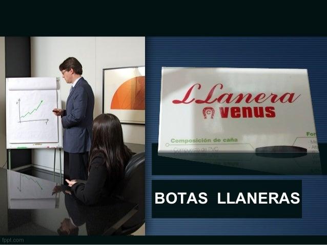 BOTAS LLANERAS