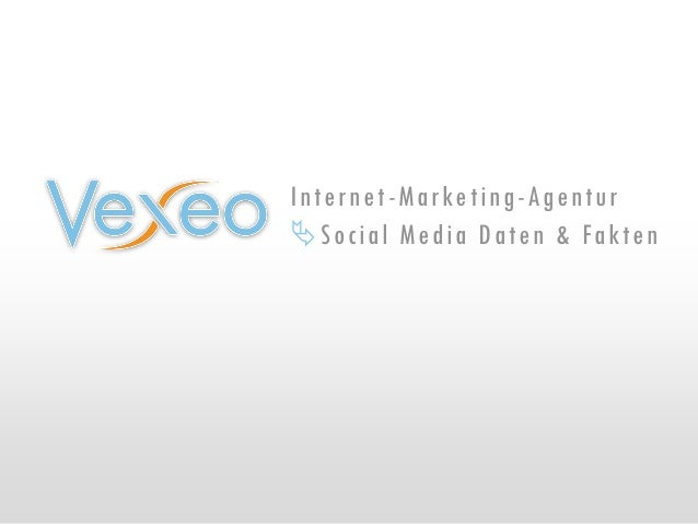 Internet-Marketing-Agentur Social Media Daten & Fakten