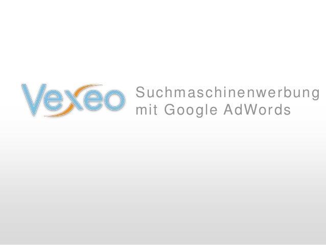Suchmaschinenwerbung mit Google AdWords