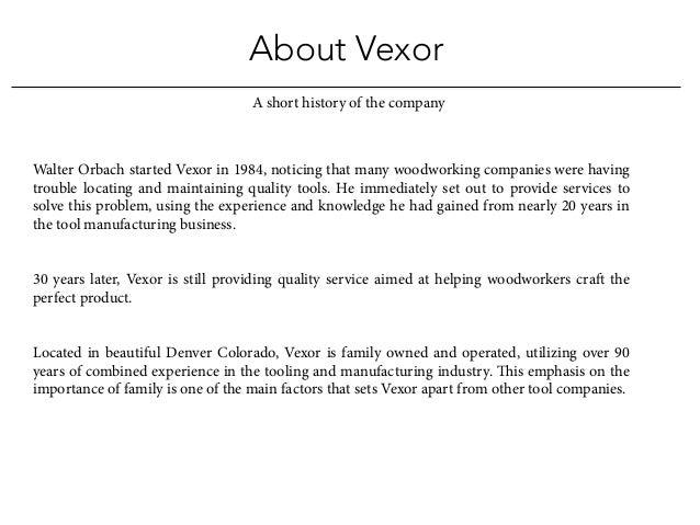 Vexor Custom Woodworking Tools