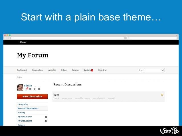 ForumCon: Vanilla Forums