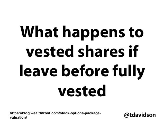What happens to unvested stock options in an acquisition