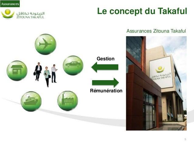 6 Le concept du Takaful Le Takaful est un concept islamique d'assurance, qui provient du mot arabe « Kafalah » et qui sign...