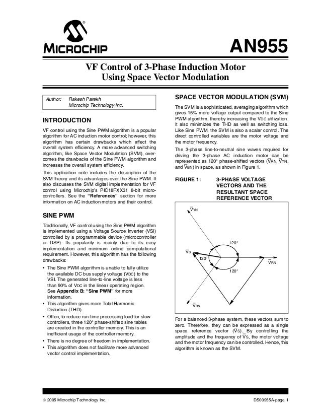 space vector modulation for induction motor Matlab central contributions by syed abdul rahman kashif professional interests: induction motor model in rotor flux frame with three phase sinusoidal excitation simple three phase space vector modulation for power inverters 6 years ago | 160 downloads.