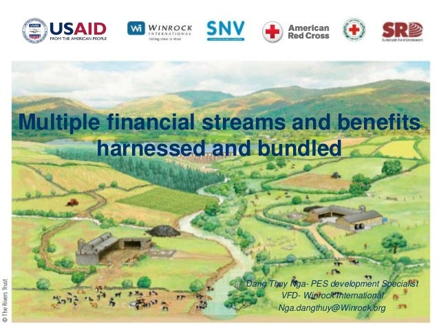 Multiple financial streams and benefits harnessed and bundled Dang Thuy Nga- PES development Specialist VFD- Winrock Inter...
