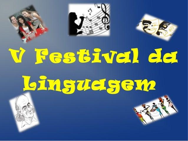 V Festival da Linguagem