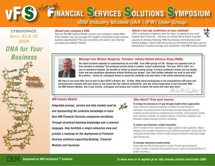 Virtual vF S                    Financial Services Solutions Symposium            3                                       ...