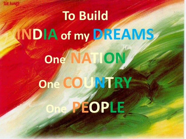 "Imaginative Essay on ""India of My Dream"""