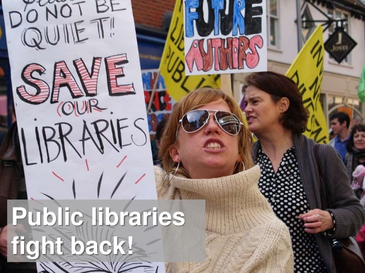 Public libraries fight back!<br />