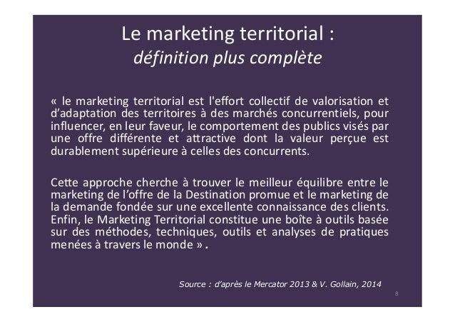 Le marketing territorial et l 39 attractivit des territoires for Terris meaning