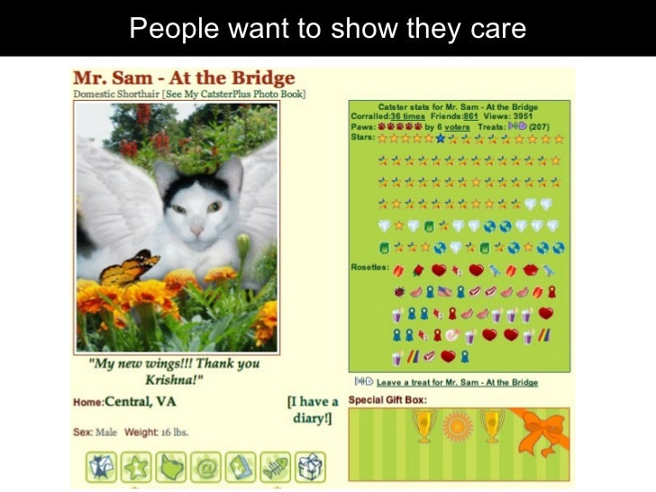People want to show they care